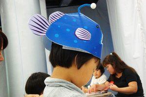 なりきりアンコウ帽子