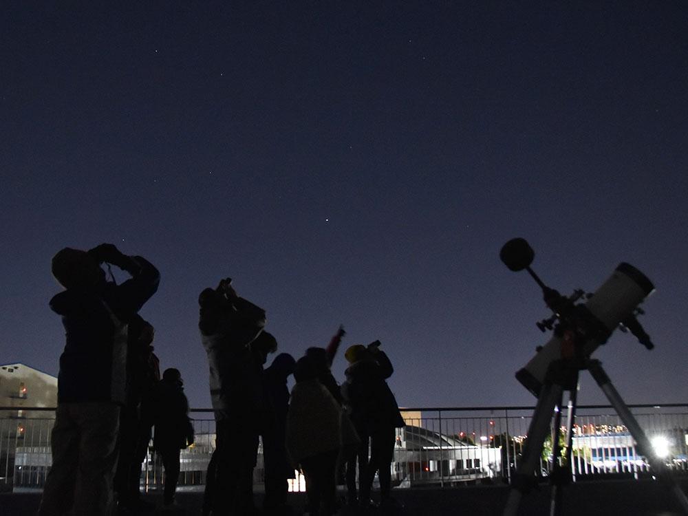 天体観望会「星と潮騒の夕べ」