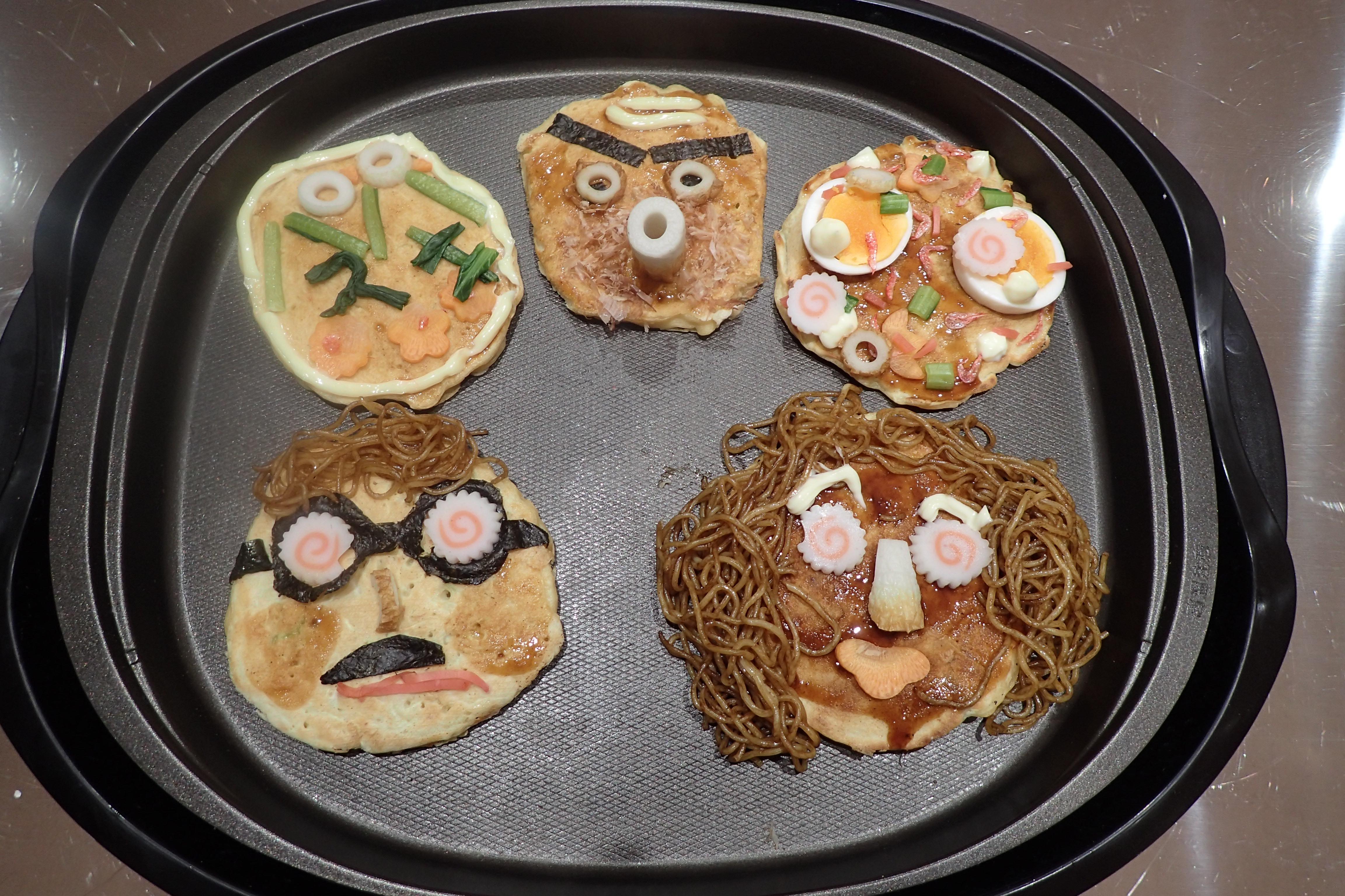 ふなばしを食べつくそう「船橋食材でミニデコお好み焼き!」