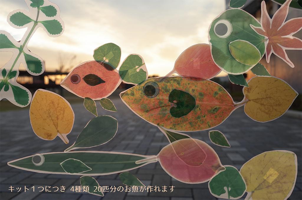 葉っぱアクアリウム