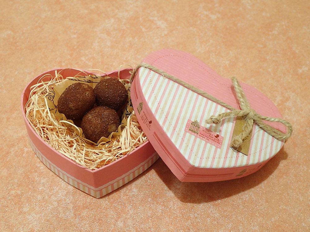 バレンタイン!『干潟のチョコ団子を作ろう』
