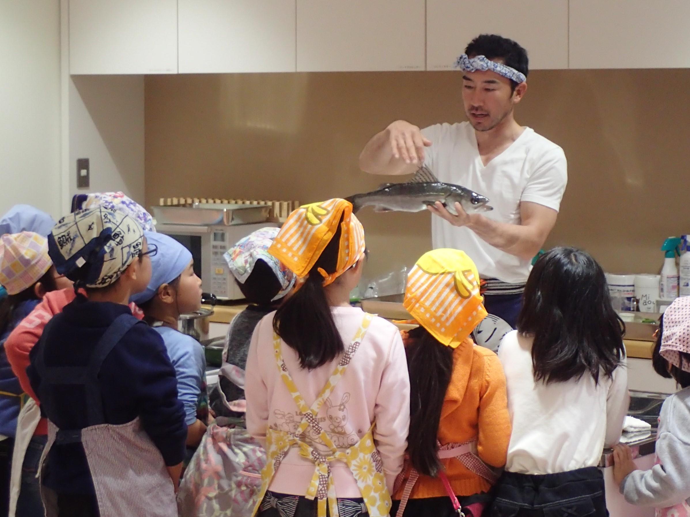 海の恵みを味わおう「東京湾の魚を食べよう」